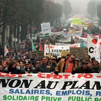 La France paralysée