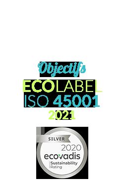 Logos certifications ESSi SGS et Ecovadis