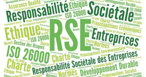 Nuage de mots clés RSE